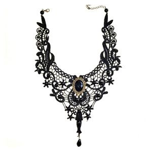 Jewelry - French Gothic Victorian V Neck Choker Necklace
